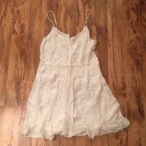 Cream Summer Dress